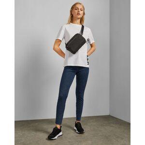 Ted Baker Raw Hem Skinny Jeans  - Mid Blue - Size: W32