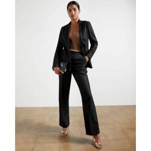 Ted Baker Wide Leg Trousers  - Black - Size: 1