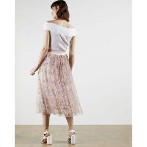 Ted Baker Jasmine Tulle Skirt  - Dusky Pink - Size: Ted Size 1 (US 4)