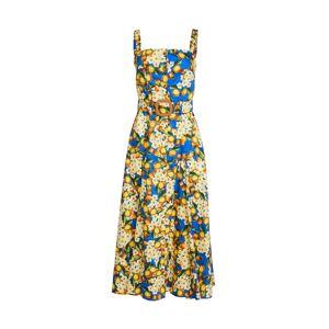 Borgo de Nor Camilla Button Up Dress  - Lemonade Blue6