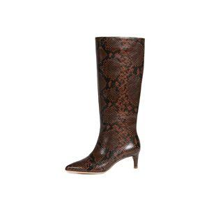 Loeffler Randall Gloria Tall Kitten Heel Boots  - Mocha - Size: 5