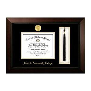University Frames Sinclair Community College Legacy Tassel Box Diploma Frame  - unisex - black