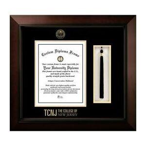 University Frames The College of New Jersey Legacy Tassel Box Diploma Frame  - unisex - black
