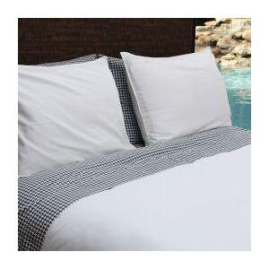 OCM Solid Duvet Cover Set  - unisex - white - Size: Fulll, queen