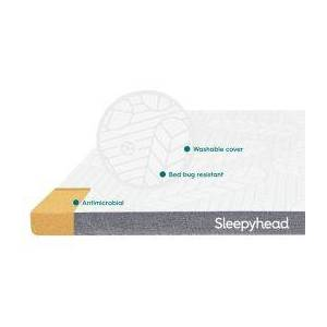 OCM Sleepyhead 3-Inch Copper-Infused Memory Foam Mattress Topper  - unisex - copper - Size: Extra Large