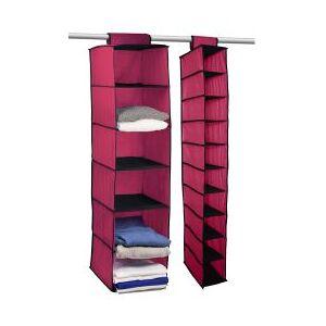 OCM Hanging Storage Value Pak  - unisex - Coral Grape Gray Deep Pink Kiwi