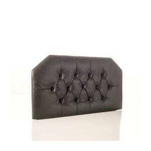 OCM Black Faux Leather Dorm Bed Headboard  - unisex - Black