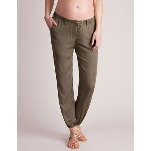 Seraphine Khaki Summer Slouchy Maternity Pants
