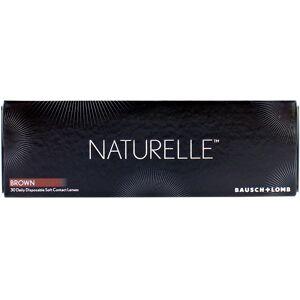 Naturelle Elegantbrown Daily Disposable Color Contact Lenses 30 Lenses Per Box