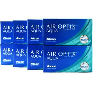 Air Optix Aqua 8-Box Monthly Disposable Contact Lenses