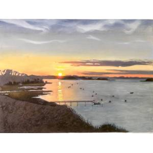 Lydia Bauman Pleasant Bay, Cape Cod Usa, Original, Nature, America, Excellent, Art Reviews  - Not Applicable - Size: One Size