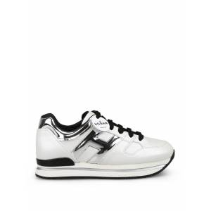 Hogan H222 Pearly Leather Sneakers
