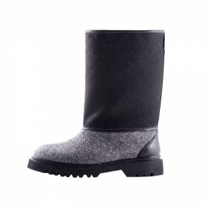 Wool Boots - Black