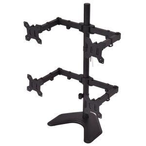 Adjustable Arms Swiel 4 LCD Tilt Monitor Mount Desk TV Bracket