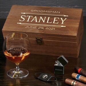 HomeWetBar Stanford Engraved Opus Cognac Gift Set