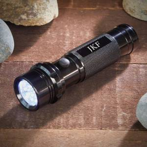HomeWetBar Monogrammed Custom Flashlight