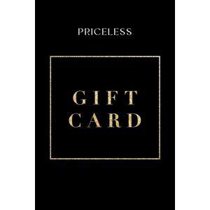 Shop Priceless Gift E-Card  - Giftcard100