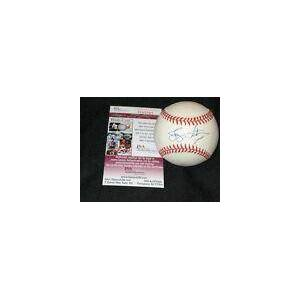 SportsMemorabilia.com Jerry Hairston Signed Baseball - Certified Authentic Oal Jsa