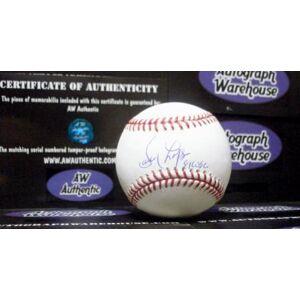 SportsMemorabilia.com Davey Lopes Autographed Baseball - inscribed 81 WSC )