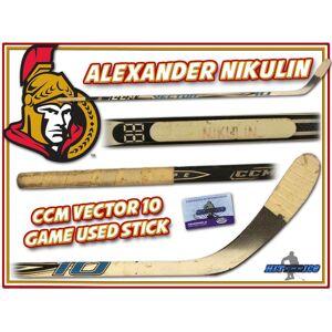 SportsMemorabilia.com ALEXANDER NIKULIN Game Used Stick OTTAWA SENATORS w/COA