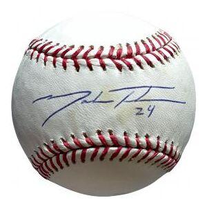 SportsMemorabilia.com Mark Teahen Autographed Baseball