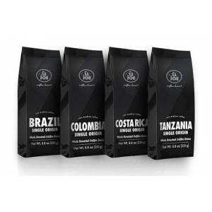 Single Origin Whole Bean Coffee Variety Pack (4 bags)