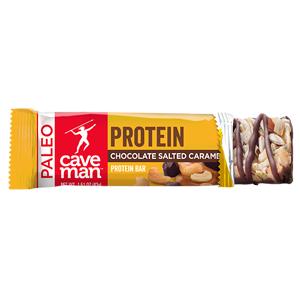 Caveman Foods Chocolate Salted Caramel Protein Bars