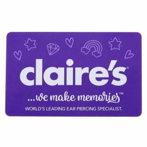 Claire's $20 USD Fabulous Gift Card