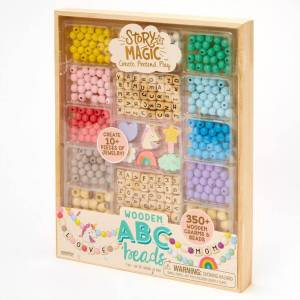 Claire's Story Magic™ Wooden ABC Beads Set