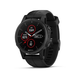 Garmin Fenix 5S Plus Watch (Sapphire Black)