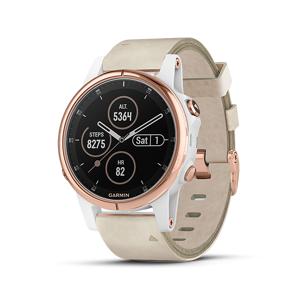 Garmin Fenix 5S Plus Watch (Sapphire Rose Gold)