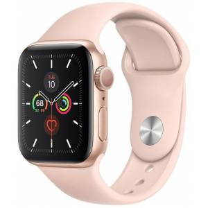 Apple Watch Series 5 40mm Gold With Pink Sport Band (V72)