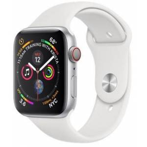 Apple Watch Series 4 Cellular 44mm Silver With White Sport Band (VR2)