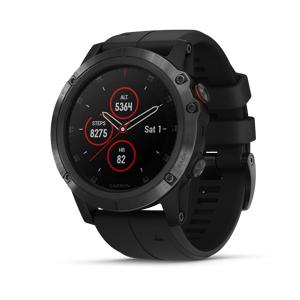 Garmin Fenix 5X Plus Watch (Sapphire Black)
