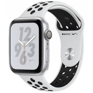 Apple Watch Series 4 Nike+ 44mm Silver With Black Sport Band (6K2)