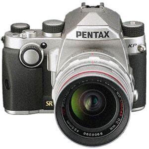 Pentax KP Kit (DA 50 F1.8 Black lens) Silver