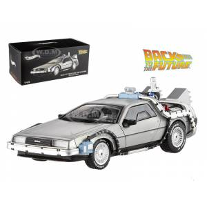Hotwheels Delorean DMC-12 Back To The Future Time Machine With Mr. Fusion 1/43 Diecast Model Car by Hotwheels