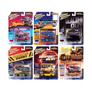 "Johnny Lightning ""Street Freaks"" 2020 Set A of 6 Cars Release 2 1/64 Diecast Model Cars by Johnny Lightning"