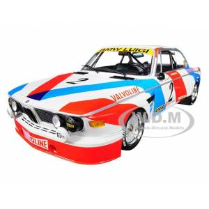 Minichamps BMW 3.0 CSL 2 De Fierlant / Xhenceval Winners 24 Hours SPA 1975 (Luigi Racing) Limited Edition to 360 pieces Worldwide 1/18 Diecast Model Car by Mini