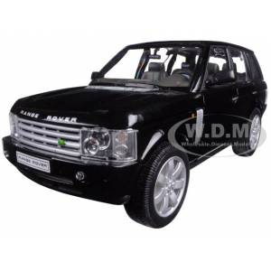 Welly Land Rover Range Rover Black 1/24 Diecast Model Car by Welly