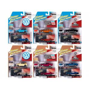 Johnny Lightning Collectors Tin 2020 Set of 6 Cars Release 3 1/64 Diecast Model Cars by Johnny Lightning