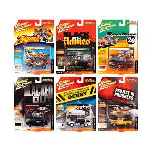 "Johnny Lightning ""Street Freaks"" 2020 Release 1 Set B of 6 Cars 1/64 Diecast Models by Johnny Lightning"
