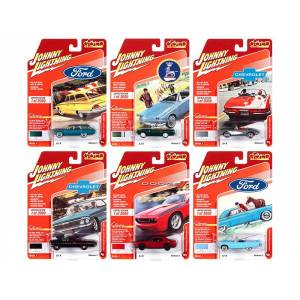 """Johnny Lightning """"Classic Gold Collection"""" 2020 Set A of 6 Cars Release 3 Limited Edition to 2000 pieces Worldwide 1/64 Diecast Model Cars by Johnny Lightning"""