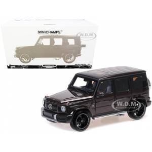 Minichamps 2018 Mercedes-AMG G63 Dark Red Metallic Limited Edition to 300 pieces Worldwide 1/18 Diecast Model Car by Minichamps