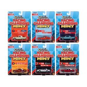 Racing Champions Mint 2020 Release 1 6 piece Set Limited Edition to 2000 pieces Worldwide 1/64 Diecast Model Cars by Racing Champions