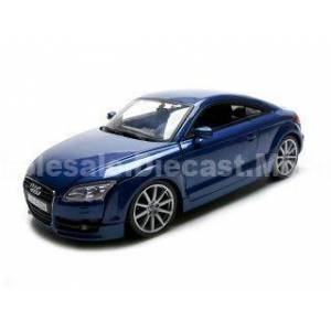 Motormax 2007 Audi TT Blue 1/18 Diecast Car Model by Motormax