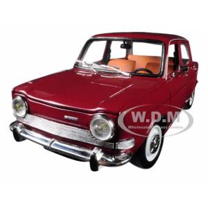 Norev 1974 Simca 1000 LS Amarante Red 1/18 Diecast Model Car by Norev