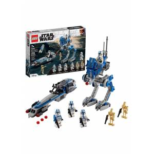 Lego Star Wars LEGO 501st Legion Clone Troopers Building Set  - Blue/Gray/White - Size: One Size