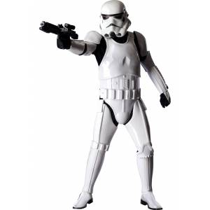 Rubies Costume Co. Inc Ultimate Stormtrooper Costume W/ Jumpsuit   Space Fighter  - White - Size: Extra Large