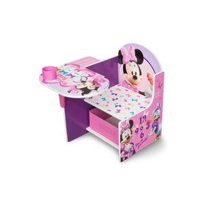 Delta Children Minnie Mouse Chair Desk with Storage Bin
